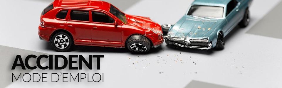 Accident de voiture ? La bonne marche à suivre…